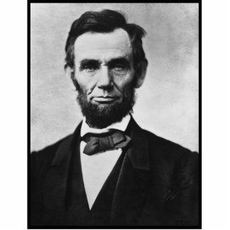 Abraham Lincoln, het Beeldhouwwerk van de Foto Staand Fotobeeldje