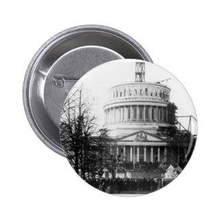 Abraham Lincoln, Inaugureel Adres, 4 Maart, 1861 Ronde Button 5,7 Cm