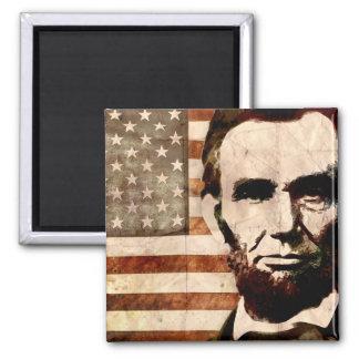 Abraham Lincoln Magneet