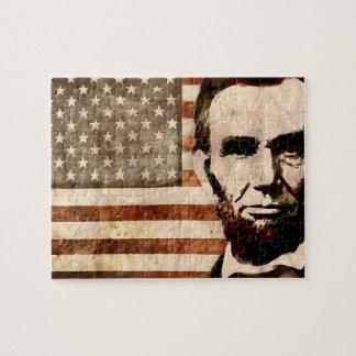 Abraham Lincoln Puzzel