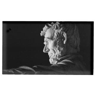 Abraham Lincoln Tafelnummer Houder
