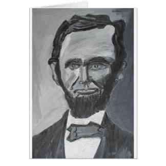Abraham Lincoln Wenskaart