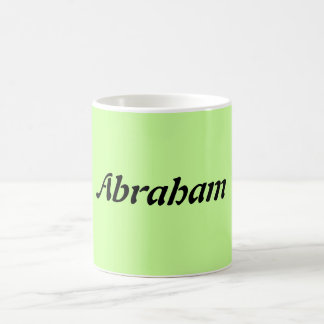 Abraham Name Mug Koffiemok