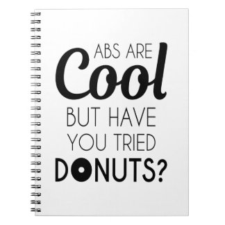 Abs of Donuts Notitieboek