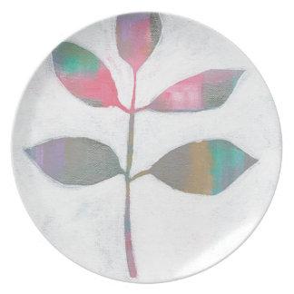 Abstract blad melamine+bord