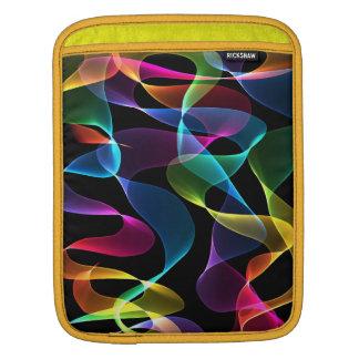 Abstract de kleurensleeve van de regenboog sleeve voor iPad