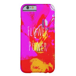 Abstract de telefoonhoesje van flower power barely there iPhone 6 hoesje
