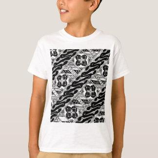 Abstract en Versierd Klassiek Patroon T Shirt