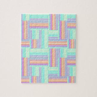 Abstract geometrisch patroon legpuzzel