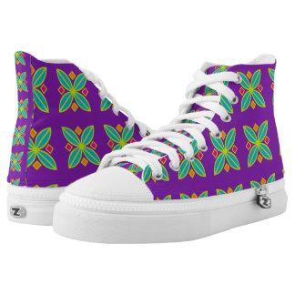 Abstract geometrisch sneakers