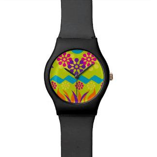 abstract geometrisch sportief horloge