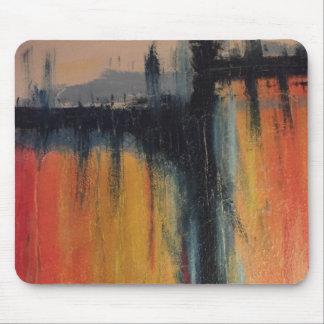 abstract het schilderen muisstootkussen muismatten