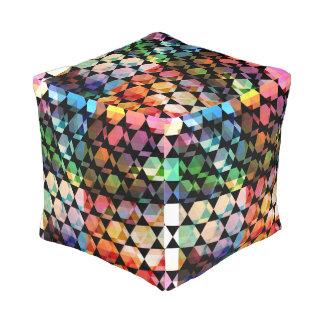 Abstract Hexagon Grafisch Ontwerp Vierkant Zitkussen