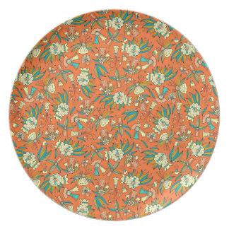 Abstract kleurrijk hand getrokken bord