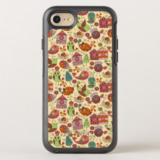 Abstract kleurrijk hand getrokken OtterBox symmetry iPhone 8/7 hoesje