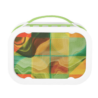 Abstract kunstwerk lunchbox
