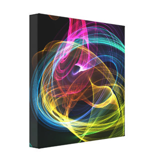 Abstract ontwerp canvas print