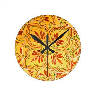 Abstract ontwerp ronde klok