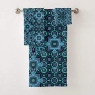 Abstract Patroon Bad Handdoek