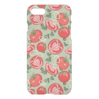 Abstract patroon met tomaat iPhone 8/7 hoesje
