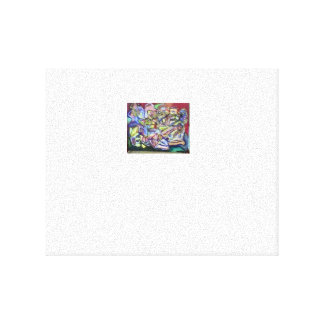 Abstract stilleven canvas prints