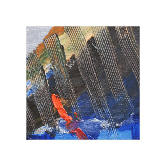 Abstract zeil canvas afdrukken