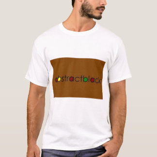 abstractblack t shirt