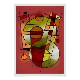 Abstracte #752 poster