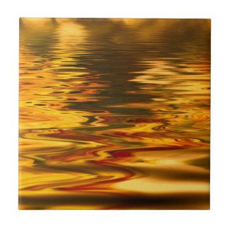 abstracte #7 keramisch tegeltje