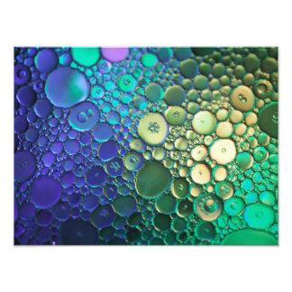 Abstracte bellenfotografie foto