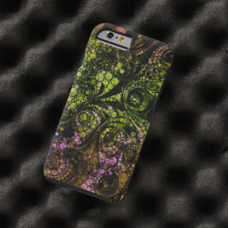 Abstracte Bling Tough iPhone 6 Hoesje