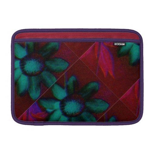 """Abstracte Bloemen op Macbook Horizontale Lucht 11"""" MacBook Air Sleeve"""