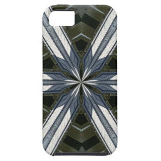 abstracte caleidoscoop tough iPhone 5 hoesje
