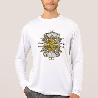 abstracte etnische bloem sweater