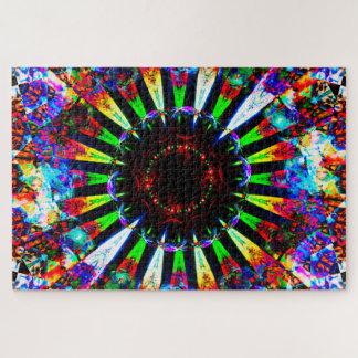 Abstracte Explosie Legpuzzel