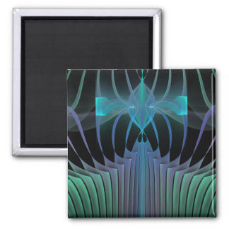 Abstracte Fractal van de resonantie Magneten