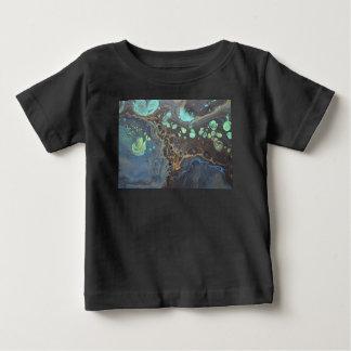 Abstracte Funky Melkweg Baby T Shirts
