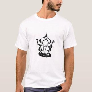 Abstracte Ganesh - het Organische Overhemd van het T Shirt