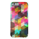 Abstracte Geometrische iPhone 6 geval Barely There iPhone 6 Case