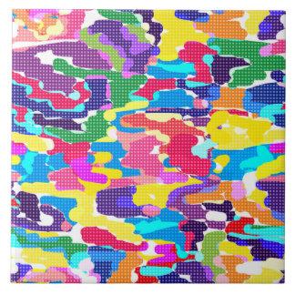 Abstracte heldere multicolored, abstract, helder, tegeltje