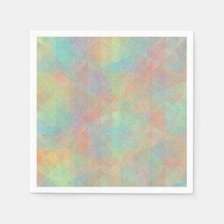 Abstracte het Pastelkleur Gekleurde Art. van de Papieren Servetten