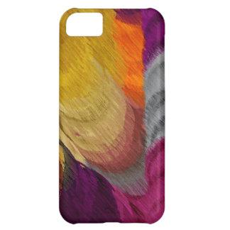 Abstracte het Schilderen | Kleurrijke Retro iPhone 5C Hoesje