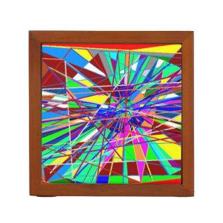 Abstracte Kleuren Pennenhouder