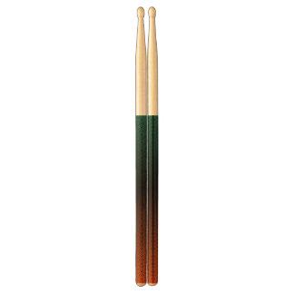 abstracte kleurrijke trommelstokken drumstokken
