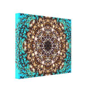 Abstracte Kunst 88 Canvas Afdruk