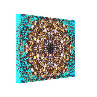 Abstracte Kunst 88 Gallerij Wrap Canvas