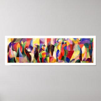 Abstracte Kunst door Sonia Delaunay - Bal Bullier Poster