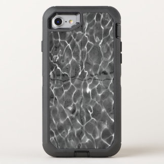 Abstracte Lichte Patronen op Water OtterBox Defender iPhone 8/7 Hoesje