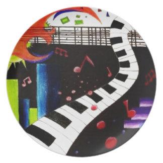 Abstracte Muziek 2013 Bord