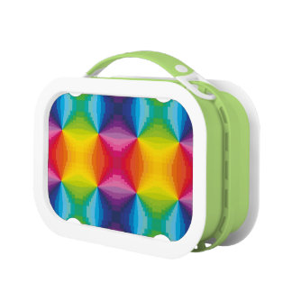 Abstracte Regenboog Lunchbox